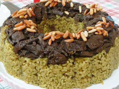 أرز بالكبدة