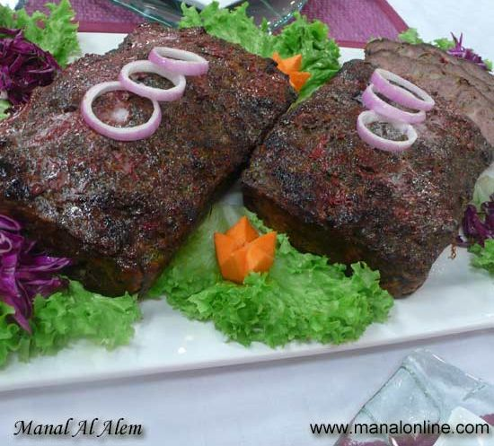 قالب اللحم